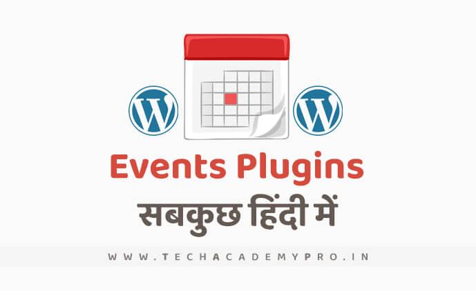 Best Events Plugins for Wordpress
