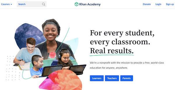 Khan Academy Education Portal