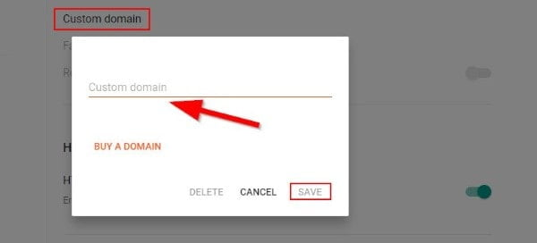 Blogger Custom Domain Setting
