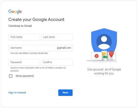 Create Gmail Account - Hindi Guide