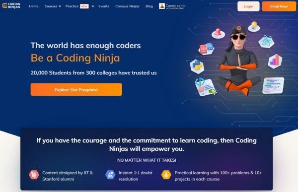 Coding Ninjas Learning Platform