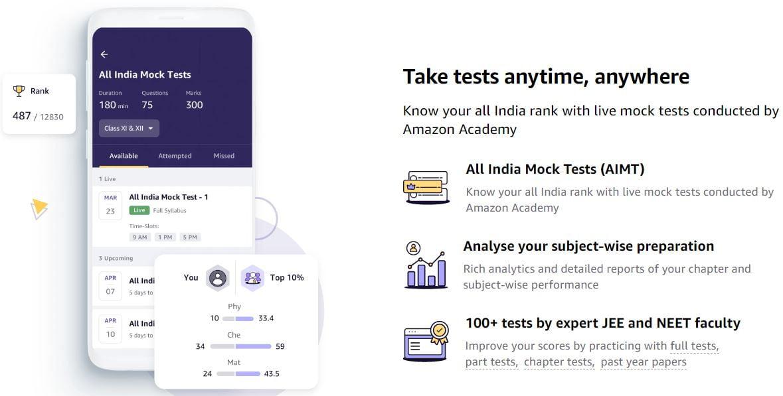 All India Mock Tests Amazon Academy