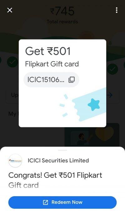 Google Pay Scratch Card