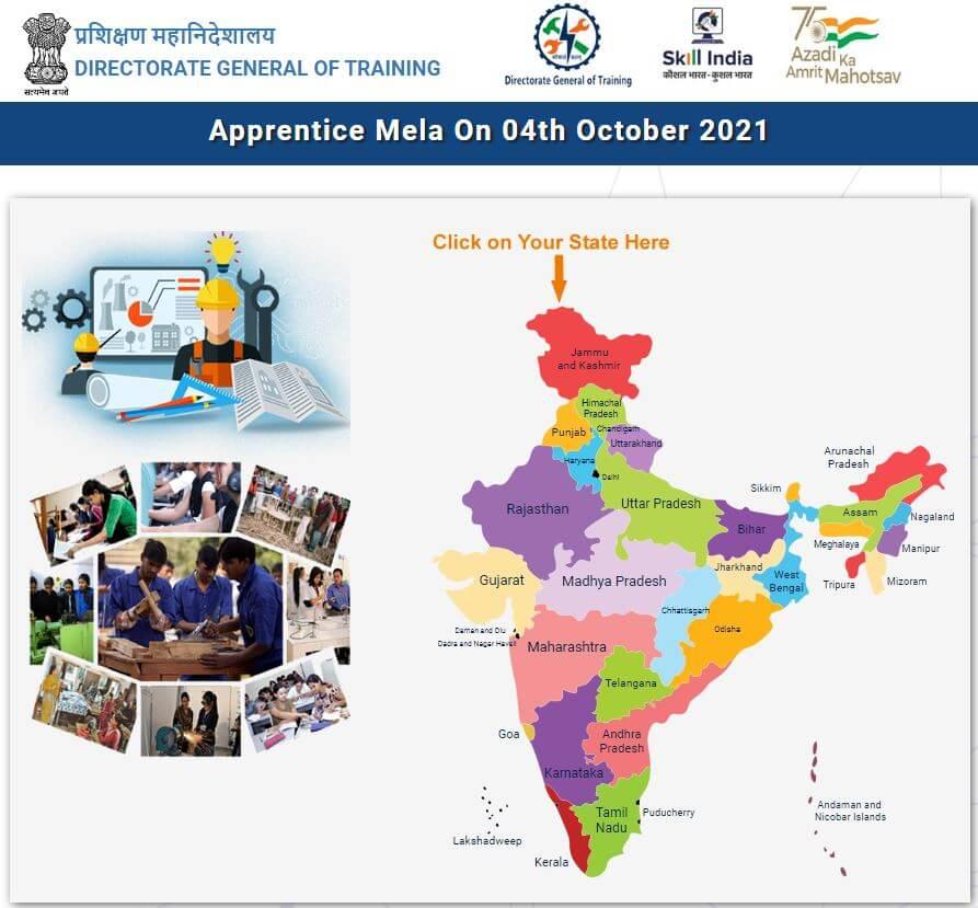 National Apprenticeship Mela- Apply Now